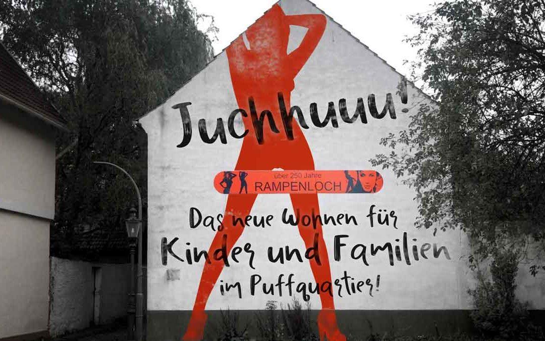 Kinder im ehemaligen Rotlichtmilieu: Die irrwitzige Idee vom Familienwohnen am Mindener Rampenloch