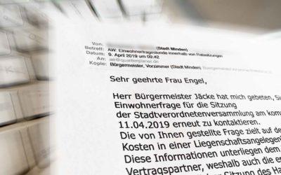 Die Millionen-Euro-Frage: Stadt Minden schürt Gerüchteküche weiter an