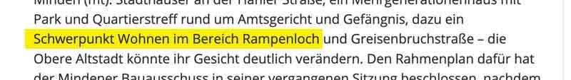 Ausschnitt A Bericht Mindener Tageblatt vom 26.02.2019